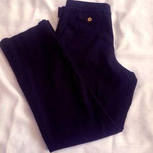 Ralph Lauren Side Zip Black Pants Slacks